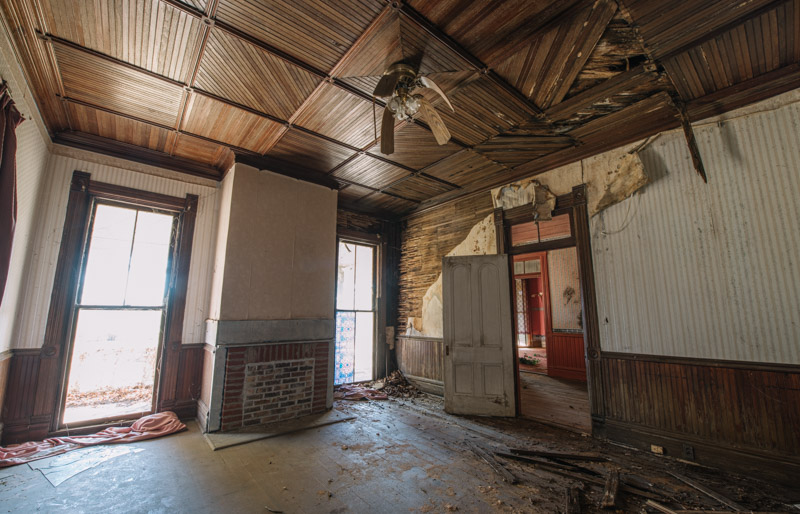 Photo © 2017 David Bulit, John McCown House - Mayfield, Georgia